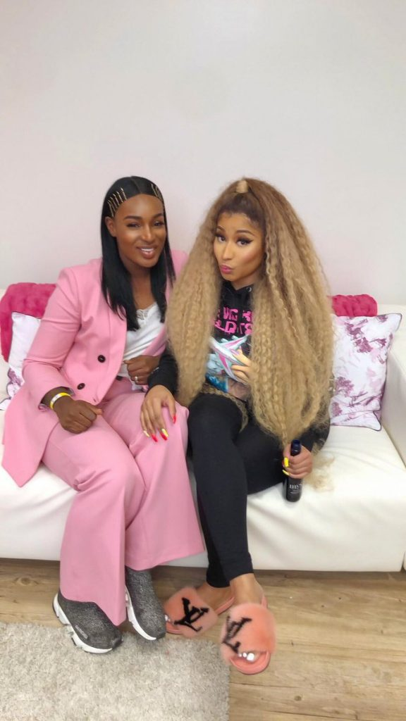 Watch: Ghanaian singer performs at Nicki Minaj's Europe Tour