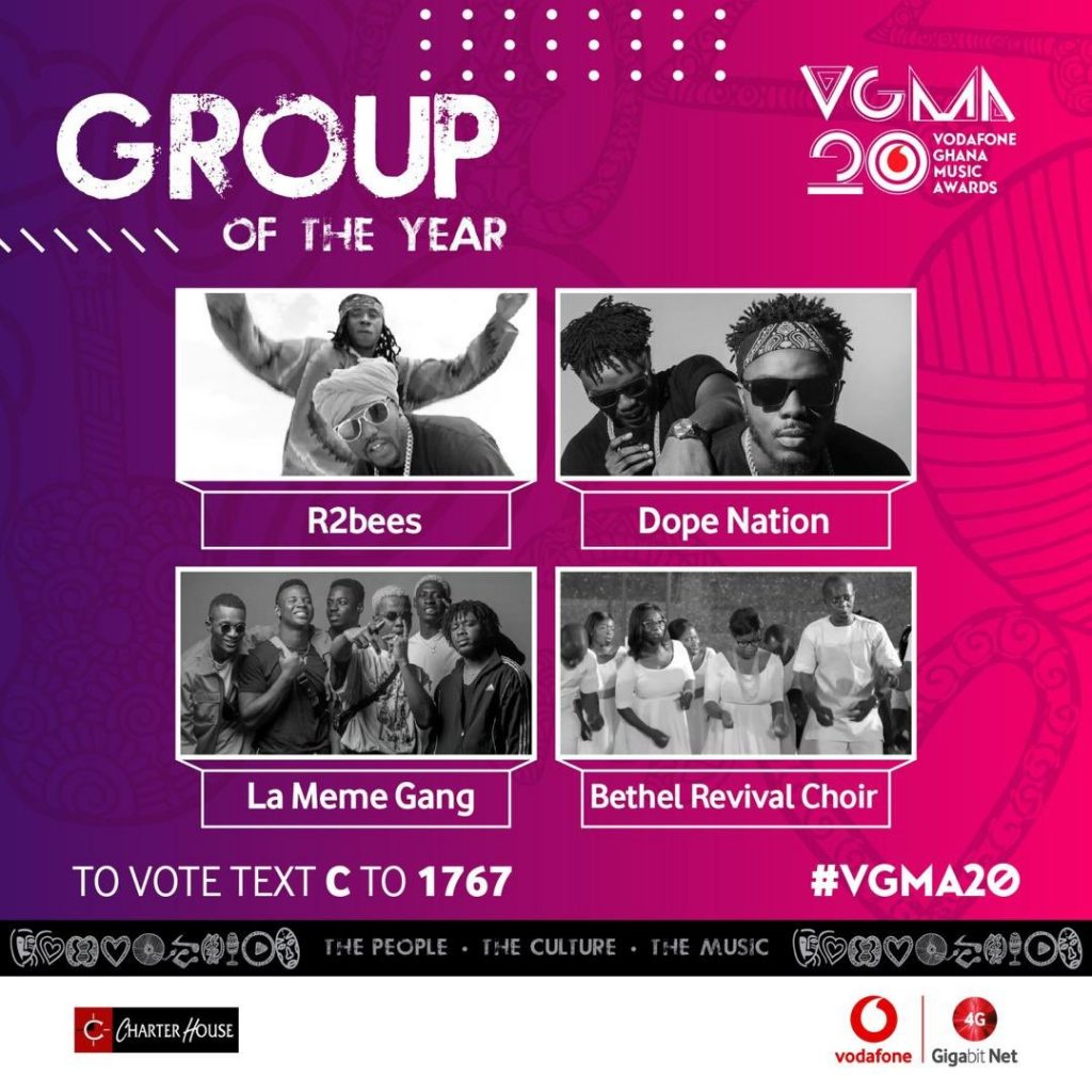 #VGMA20: Charter House unveils 2019 nominees