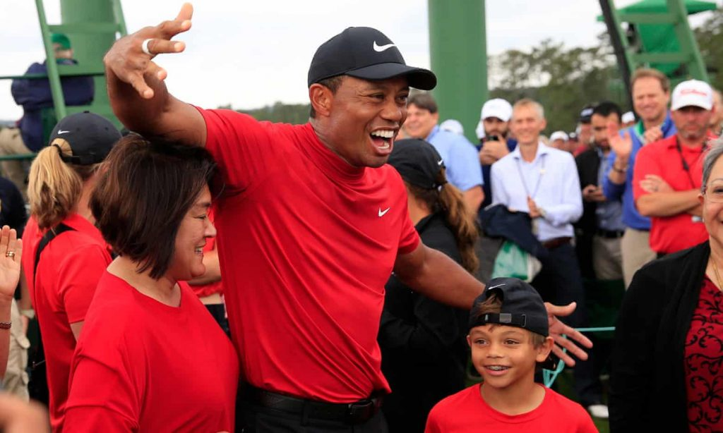 Photos: Tiger Woods wins 2019 Masters, his first major championship since 2008.