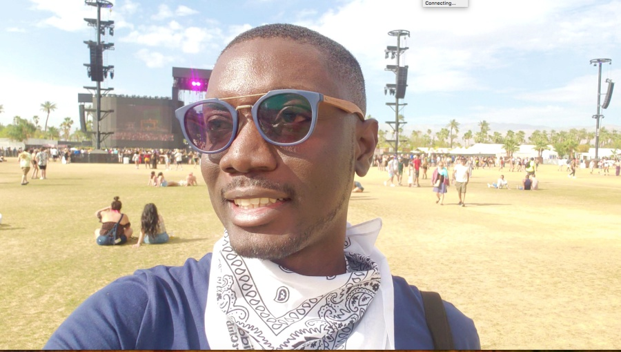 Ameyaw Debrah at Coachella 2019