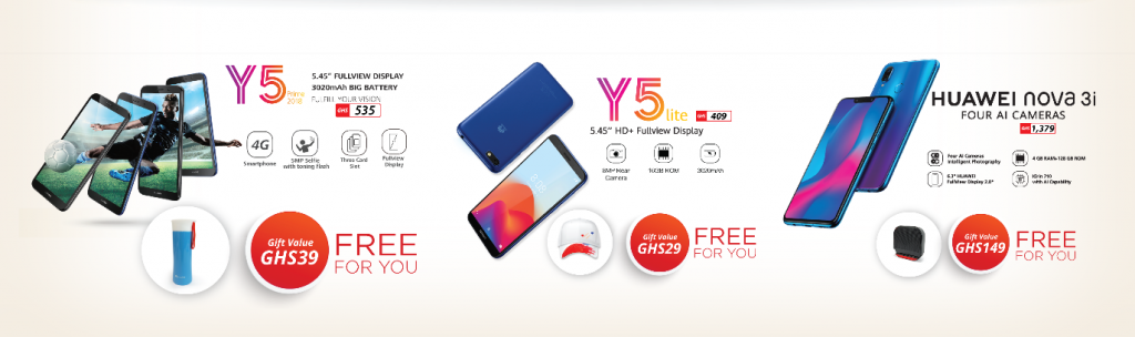 Huawei treats Ghanaians to More Gifts this Easter and beyond