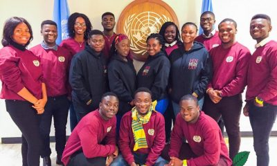 Ghanaian students excel at Harvard Model UN, win $10,000 Grant for social development.