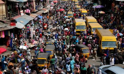 Nigeria's population hits 201 million.