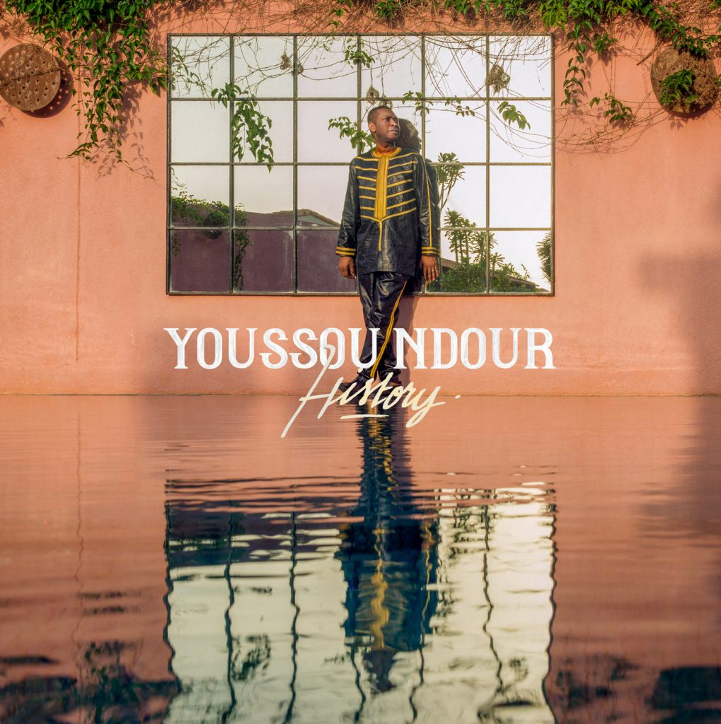 Youssou N'Dour's new album, 'History' pays homage to great African artists, without losing sight of the future ahead