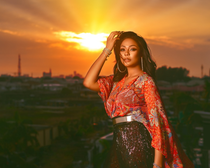 Up-close with new Nollywood 'It Girl'  Enado Odigie