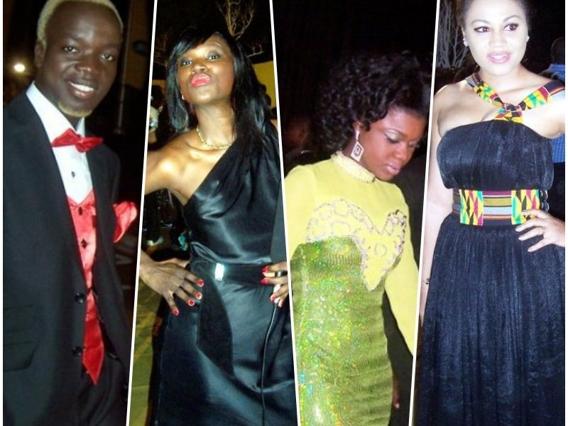 20 years of Ghana music awards, see what the stars have been wearing