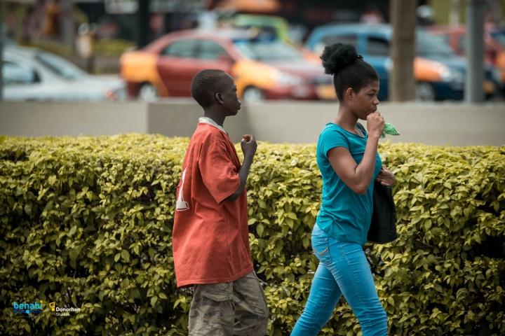 I want to be a Bank Manager - Homeless Boy Joseph Boateng alias Ahuofe laments