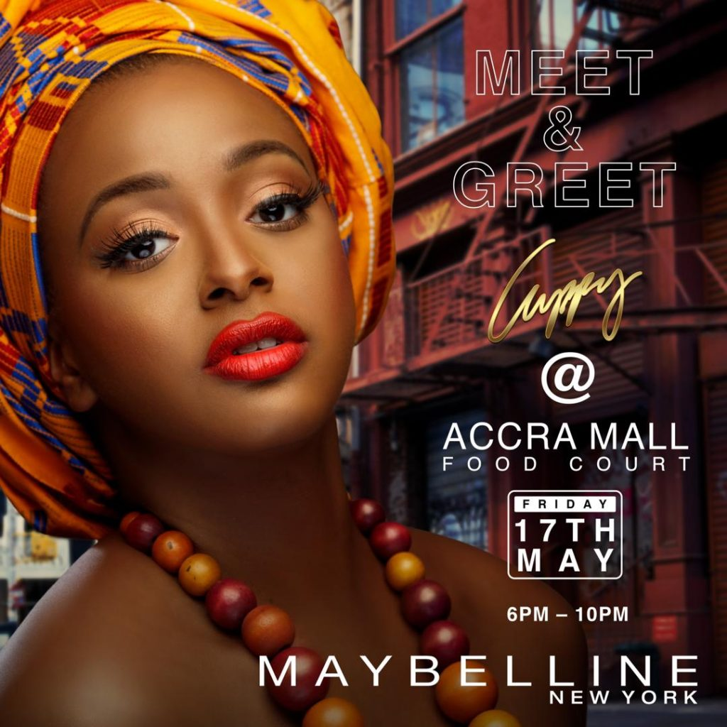 Maybelline New York presents DJ Cuppy Meet and Greet