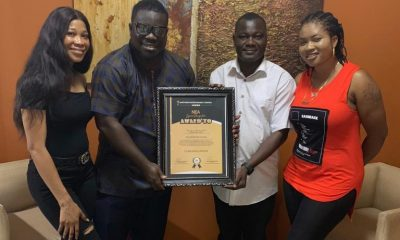 Obour receives 'Star of Change' award at the Northern-Ghana Entertainment Awards
