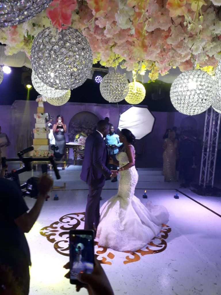 John Dumelo white wedding1