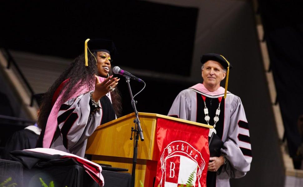 Missy Elliott becomes  first female rapper  to receive honours from the Berklee College