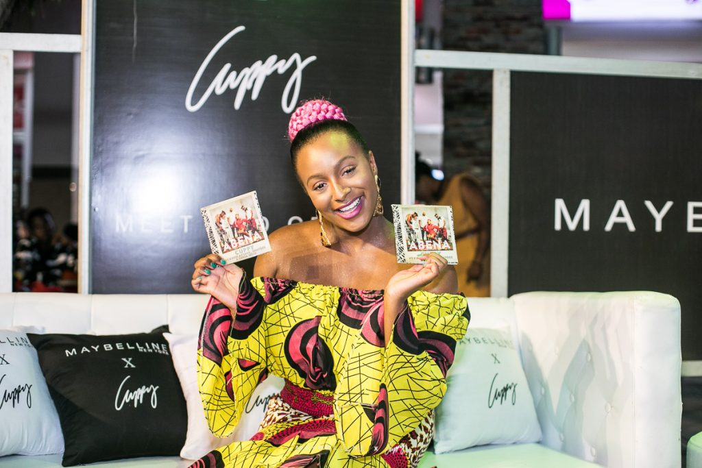PHOTOS From Maybelline's Meet And Greet For DJ Cuppy In Accra - Ameyaw  Debrah