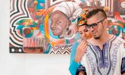 Colombian rapper, MC Dementor shoots hot music video in Sekondi