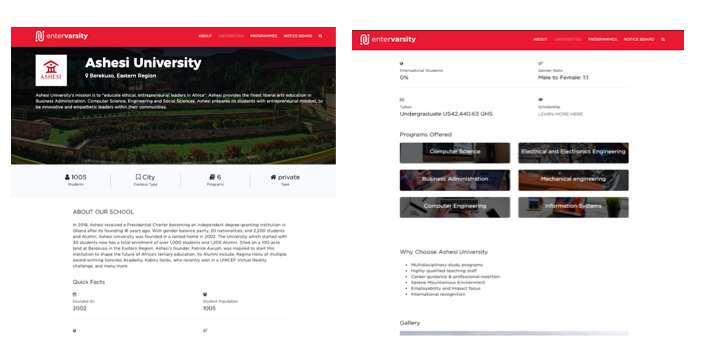 Entervarsity, Your Ultimate University Search Engine Goes Live
