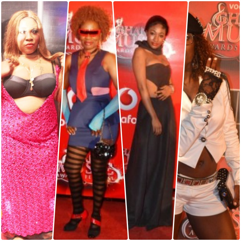 20 years of the Ghana Music Awards! Check out our pick of most ridiculous costumes yet #VGMA20