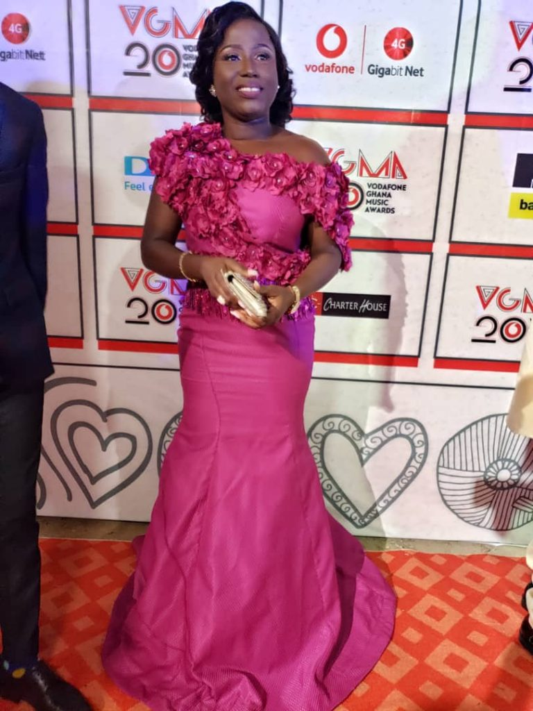 Diana Hamilton wins Gospel Artist of the year at #VGMA19