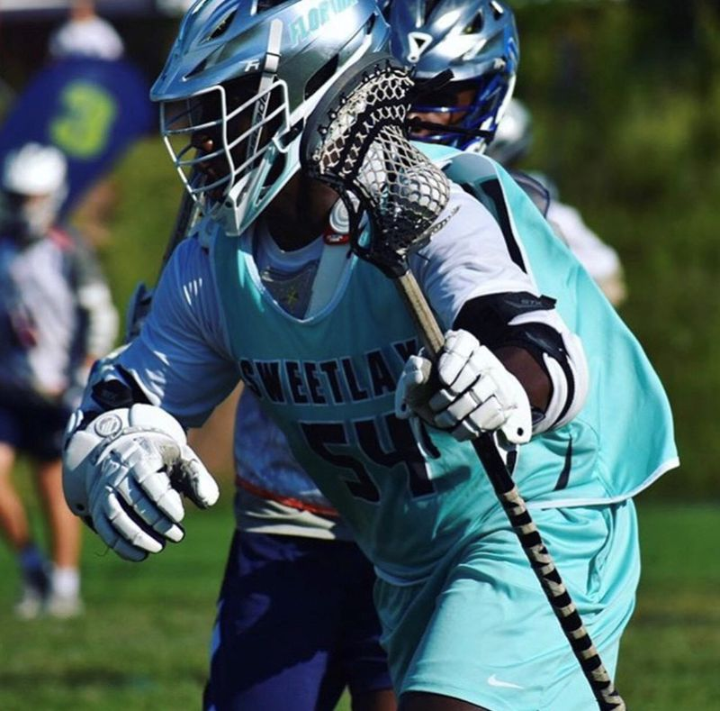 Asare-Konadu plays lacrosse on the Class of 2019 Florida Sweetlax team. (Courtesy photo)