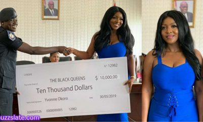 Exclusive Video: Yvonne Okoro presents $10,000 to Black Queens.