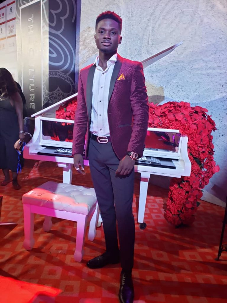 #VGMA20: Kuami Eugene the 'classic man' dazzles in velvet.