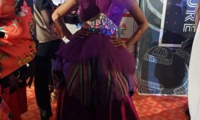 #VGMA20: Adina Thembi goes 'afrocentric' on the red carpet.