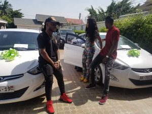 Watch: Keche receives new cars from new management.
