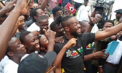Photos: WWE Champion Kofi Kingston meets fans in Accra.
