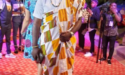 #VGMA20: Lord Paper looking like a 'Papa' on the red carpet.
