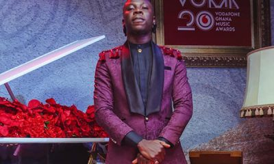 "#VGMA20: ""I'm really sorry"" - Stonebwoy apologizes for pulling a gun on stage."