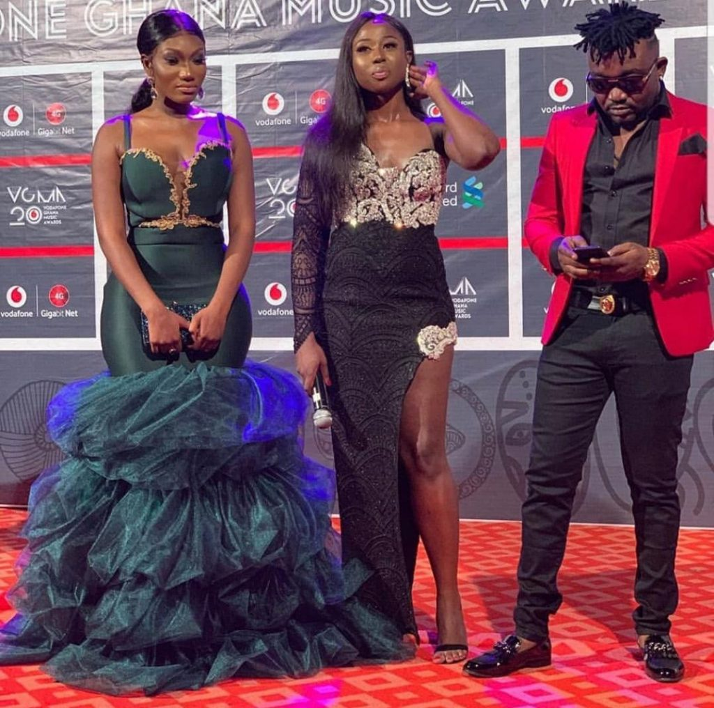 #VGMA20: Wendy Shay slays on the red carpet.