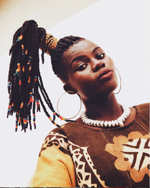 """""""Ghanaian men never approached me because they thought I am not their kind of girl, they made me feel awkward"""" - Wiyaala"""