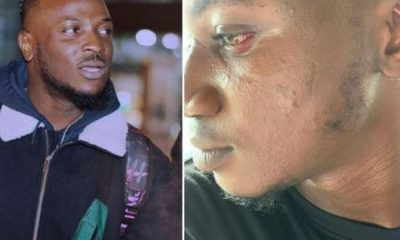 Peruzzi assaults Nigerian influencer Pamilerin over 'troll' tweets
