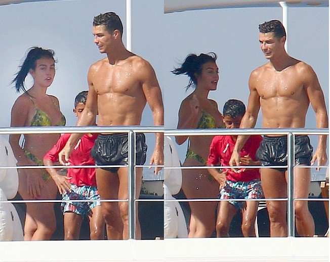 Cristiano Ronaldo gives Greek hotel workers £18,000 tip for keeping the paparazzi away from his family during their holiday'