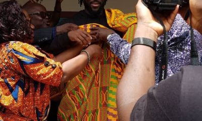 Kofi Kingston gets a royal welcome in Ejisu