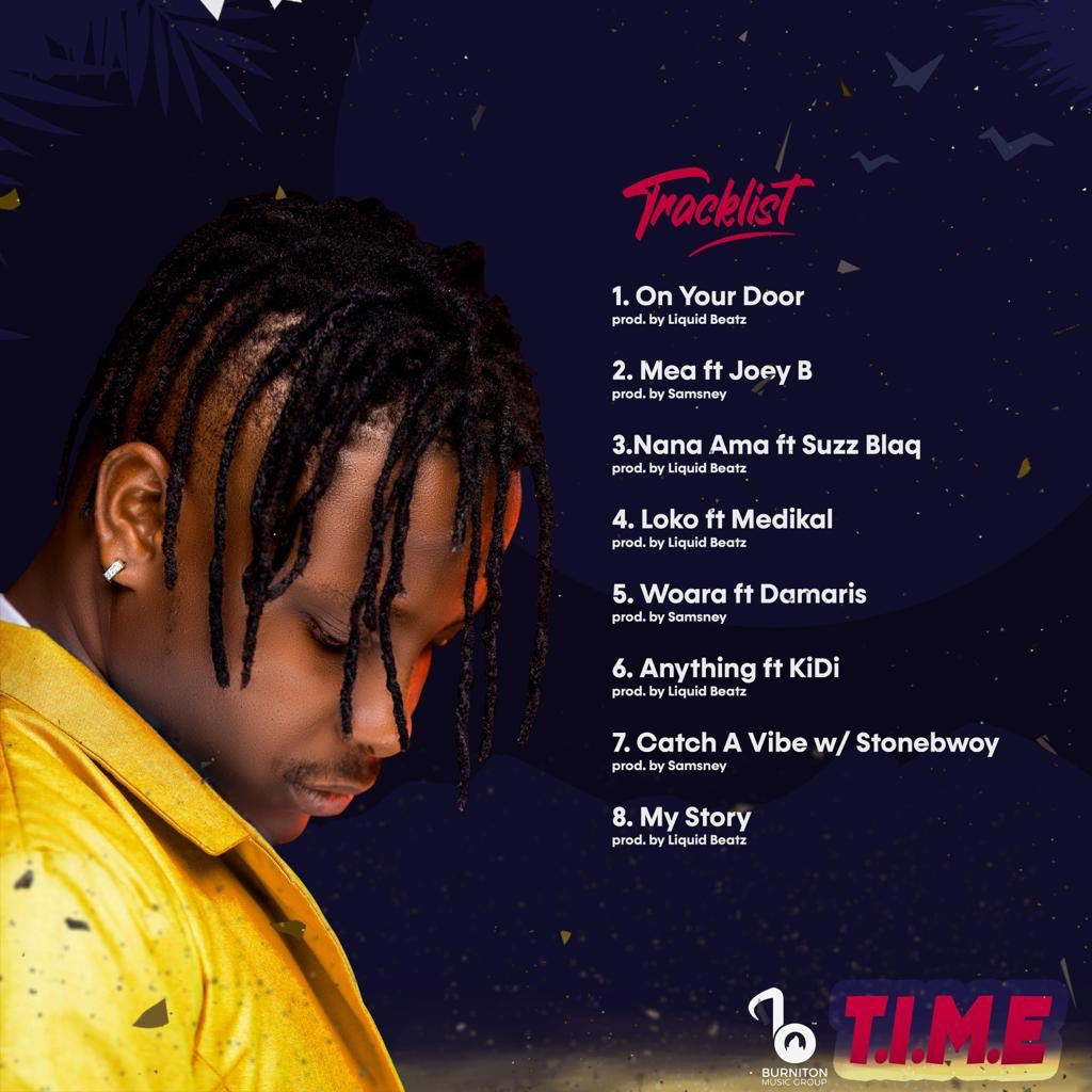 Kelvyn Boy's debut E.P, 'T.I.M.E' officially launched