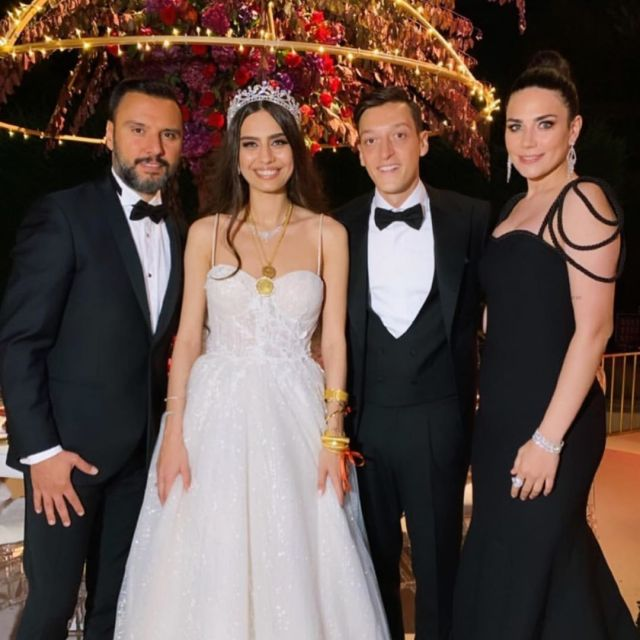 Photos From Mesut Ozil's Wedding To Former Miss Turkey