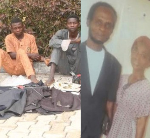 Nigerian security guards allegedly kill Ghanaian boss and daughter over unpaid salaries in Ondo.