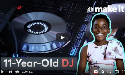Watch: American news website CNBN, highlights DJ Switch's global strides.
