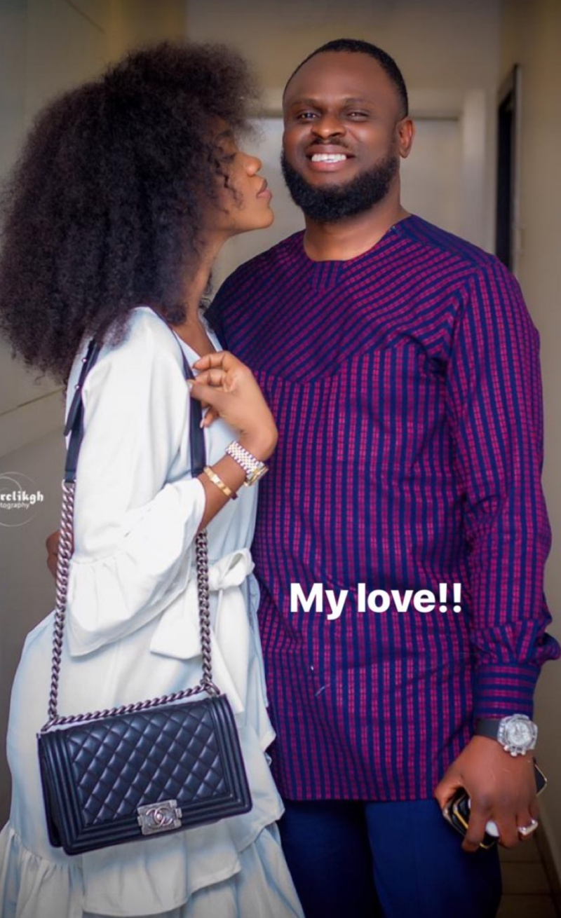 Becca shows love and support for hubby amidst shocking revelations by her mother