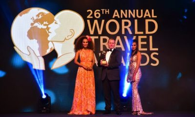 Kwarleyz Residence Accra crowned Ghana's Leading Serviced Apartment for the year 2019 at the 26th World Travel Awards