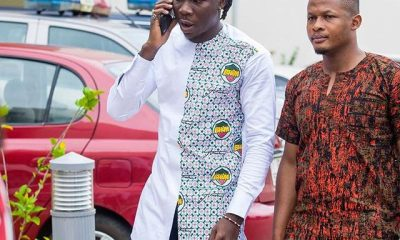 Photos: Stonebwoy launches 'BHIM Nation' fabric.