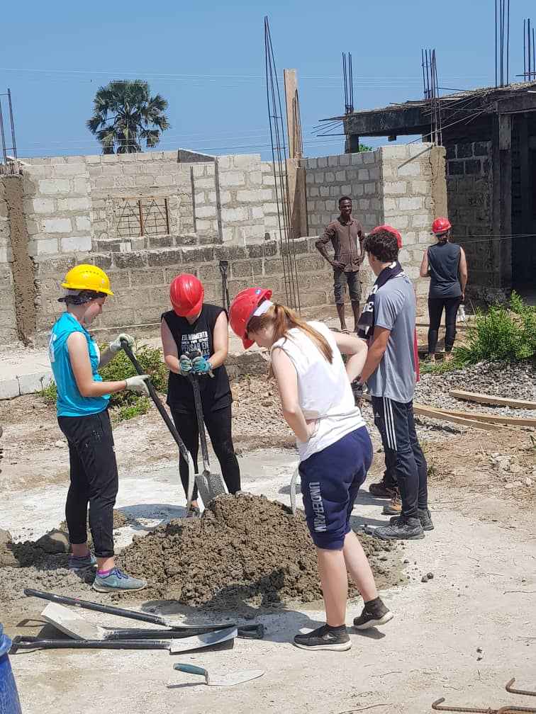 Humanitarian Experience For Youth helps Oshiyie M/A Basic School