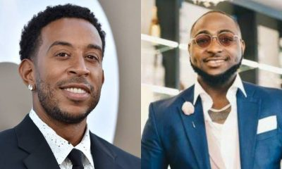 Watch: Davido and Ludacris chill in studio whiles recording