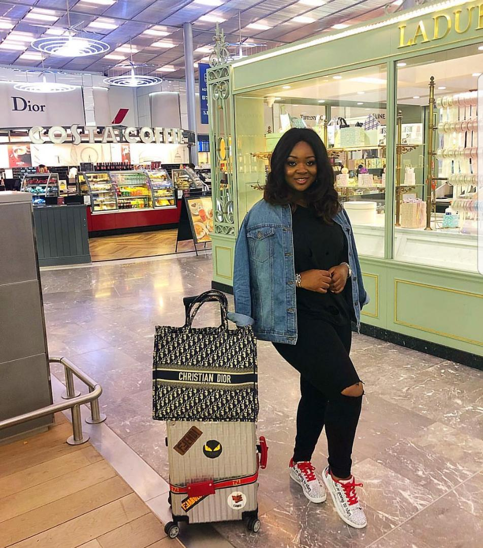 """""""I need prayers, I shop too much"""" - Jackie Appiah"""