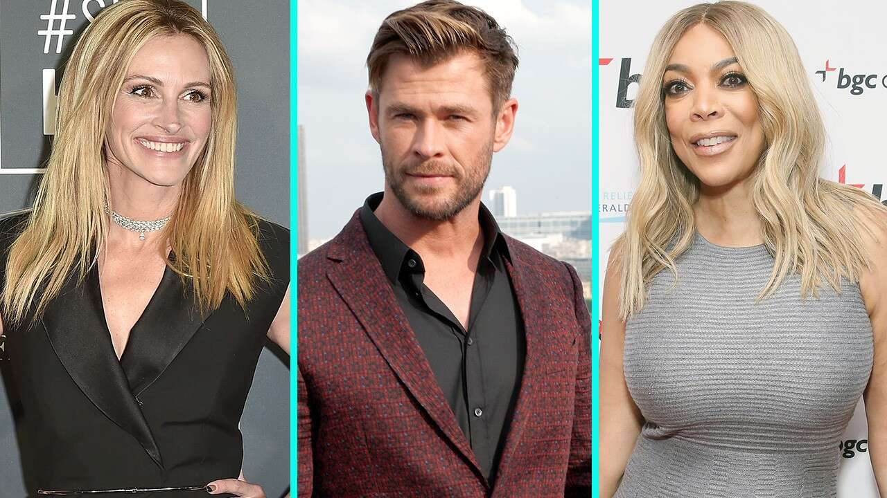 Julia Roberts, Chris Hemsworth, Wendy Williams and 50 Cent to receive stars on Hollywood Walk of Fame in 2020