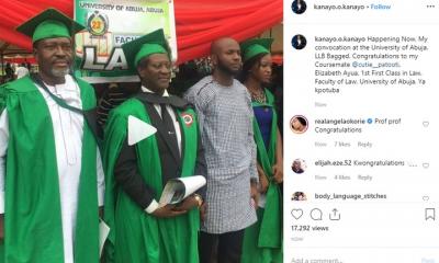 Watch: Nollywood Actor Kanayo O. Kanayo bags Degree in Law