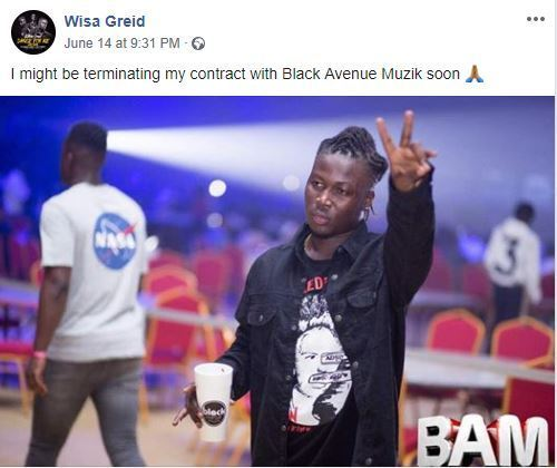 Wisa Greid set to part ways with Black Avenue Music