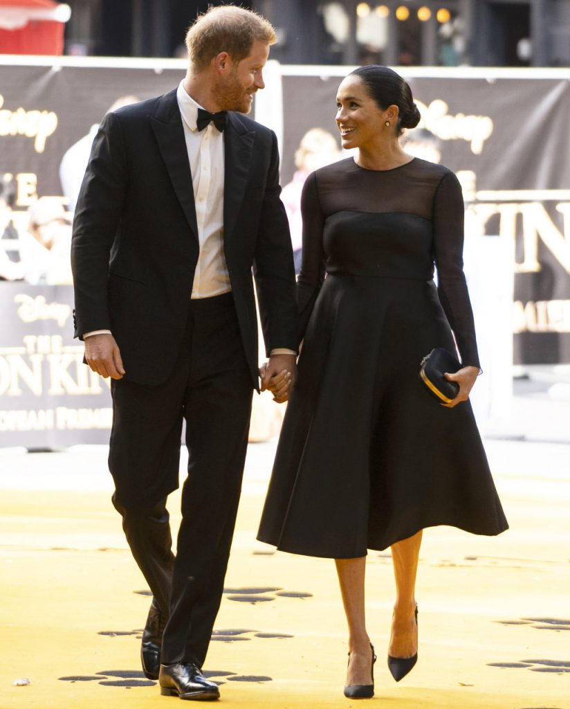 Photos: Meghan Markle, Prince Harry meet Beyoncé and Jay-Z at 'Lion King' premiere