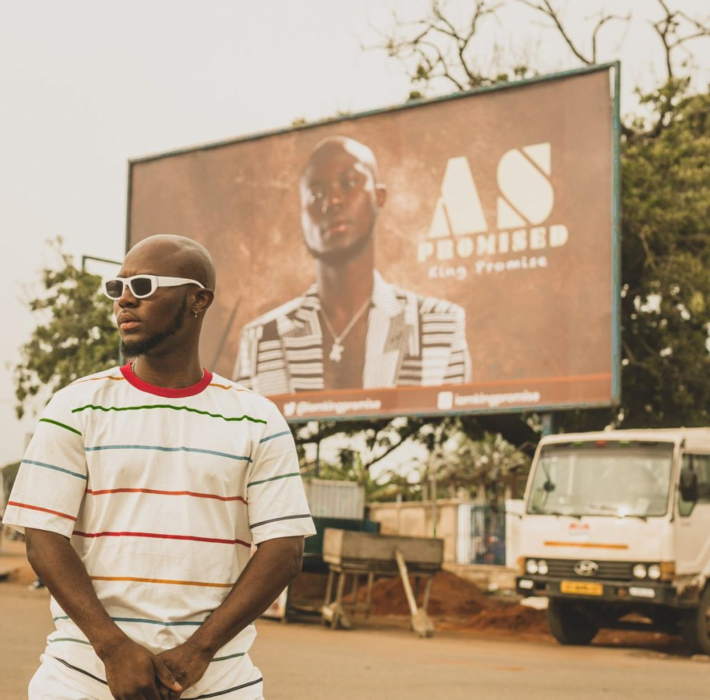 AS PROMISED: King Promise presents his debut album to the Chief of Nugua