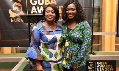 Dentaa Amoateng MBE with Ambassador Martha Pobee, Permanent Representative of Ghana to the UN and board member of GUBA