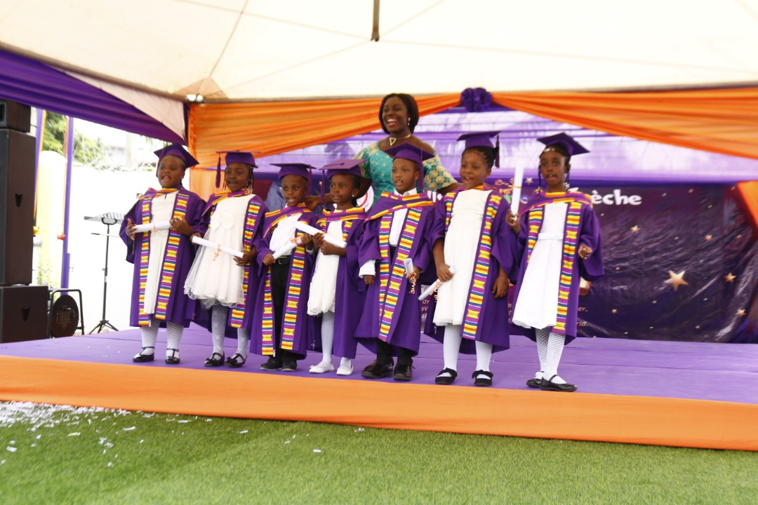 Cradle To Crayons Crèche: A luxury daycare school graduates it's first badge of KG students